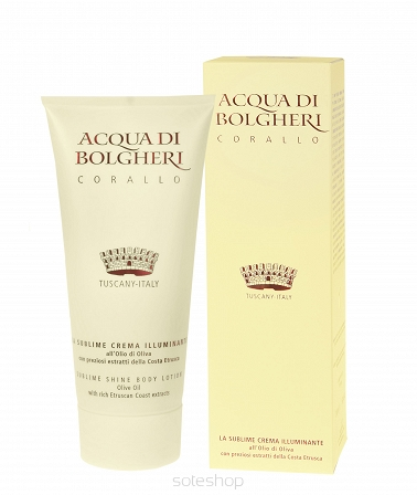 Balsam do ciała ACQUA DI BOLGHERI CORALLO 200ml