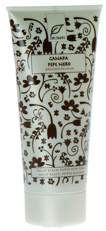 Pianka do kąpieli CANAPA PEPE NERO 200ml